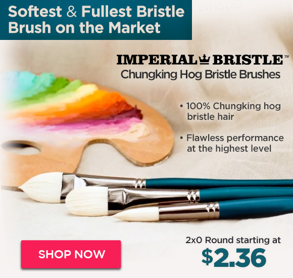 Imperial Professional Chungking Hog Bristle Brushes