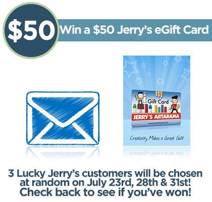 Email Subscribers Gift Card Giveaway