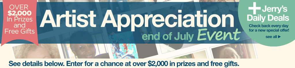 2016 Artist Appreciation Sale