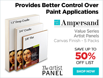 Ampersand Value Series Artist Panels - Canvas Finish