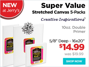 Creative Inspirations Super Value Stretched Canvas