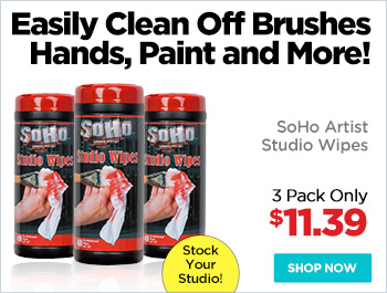 SoHo Artist Studio Wipes