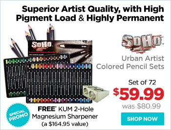 SoHo Urban Artist Colored Pencil Sets