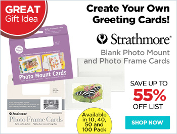 Strathmore Blank Photo Mount And Photo Frame Cards