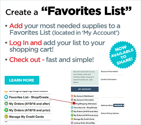 Create an Account for Faster, Seamles Shopping