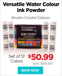 Brusho Crystal Colours & Sets