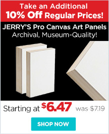 Jerry's Pro Canvas Art Panels