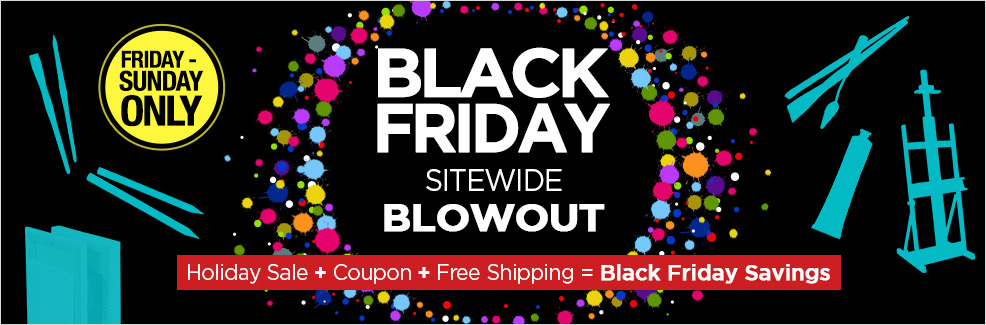 Black Friday Sitewide Blowout -Holiday Sale plus Coupons and Free Shipping!