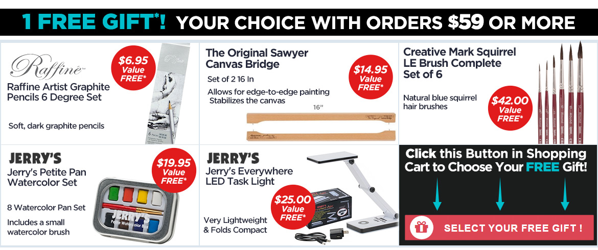 Your Choice - 1 of 5 FREE Gifts with orders $59 or more