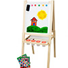 Children's Wood Easel 2