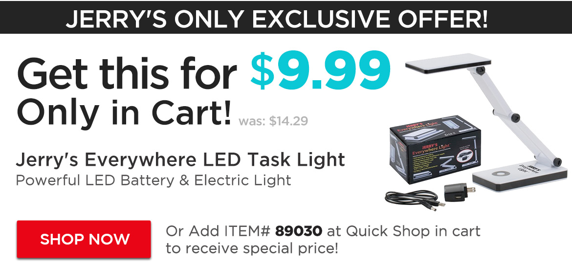 SPECIAL Price -  Jerry's Everywhere LED Light