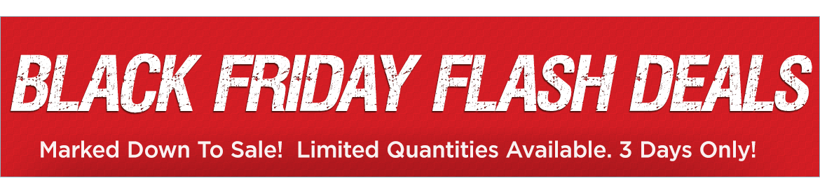 3 Day FLash Deals
