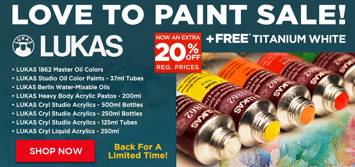 LUKAS Paint Sale + Titanium White