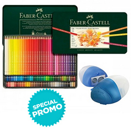 Faber-Castell Polychromos Pencil Tin Set of 120