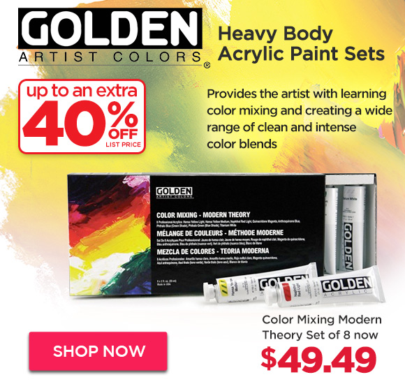 GOLDEN Heavy Body Acrylic Paint Sets