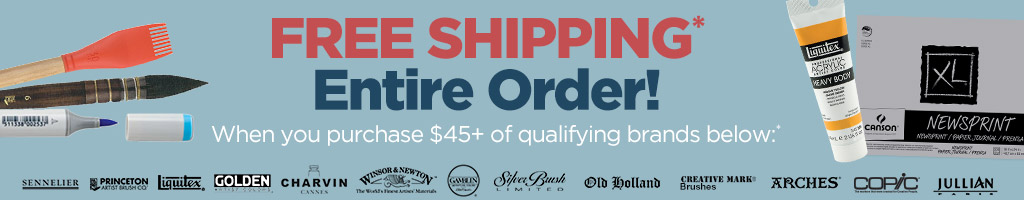 Free* Shipping Entire Order