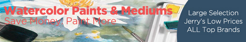 Shop and Save on Discount Artist Watercolor Paints and Mediums