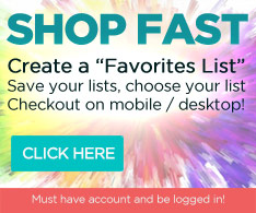 Fast Convenient Shopping with a  Favorites List