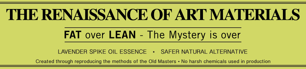 The Renaissance of Art Materials. FAT over LEAN – The Mystery is over
