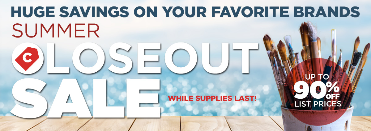 2017 Summer Closeout Specials