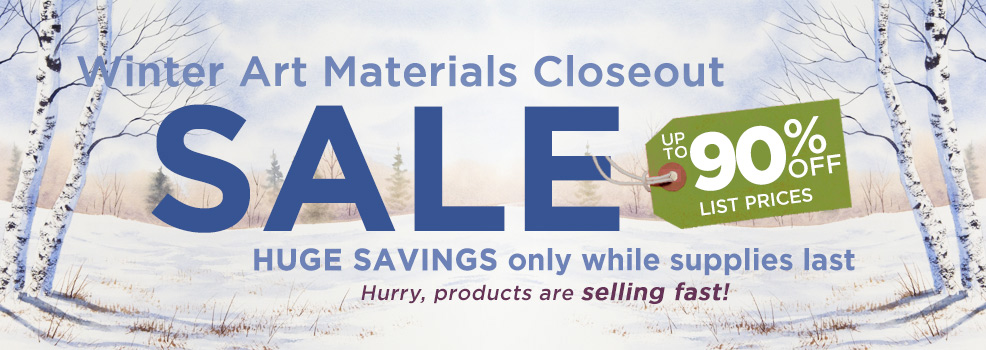 2019 Winter Closeout Specials