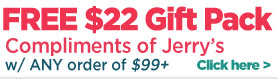 Free $22 Gift Pack