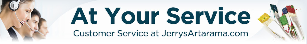 Jerry's Artarama Customer Service