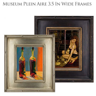 "Museum Plein Aire 3.5"" Wide Frames"