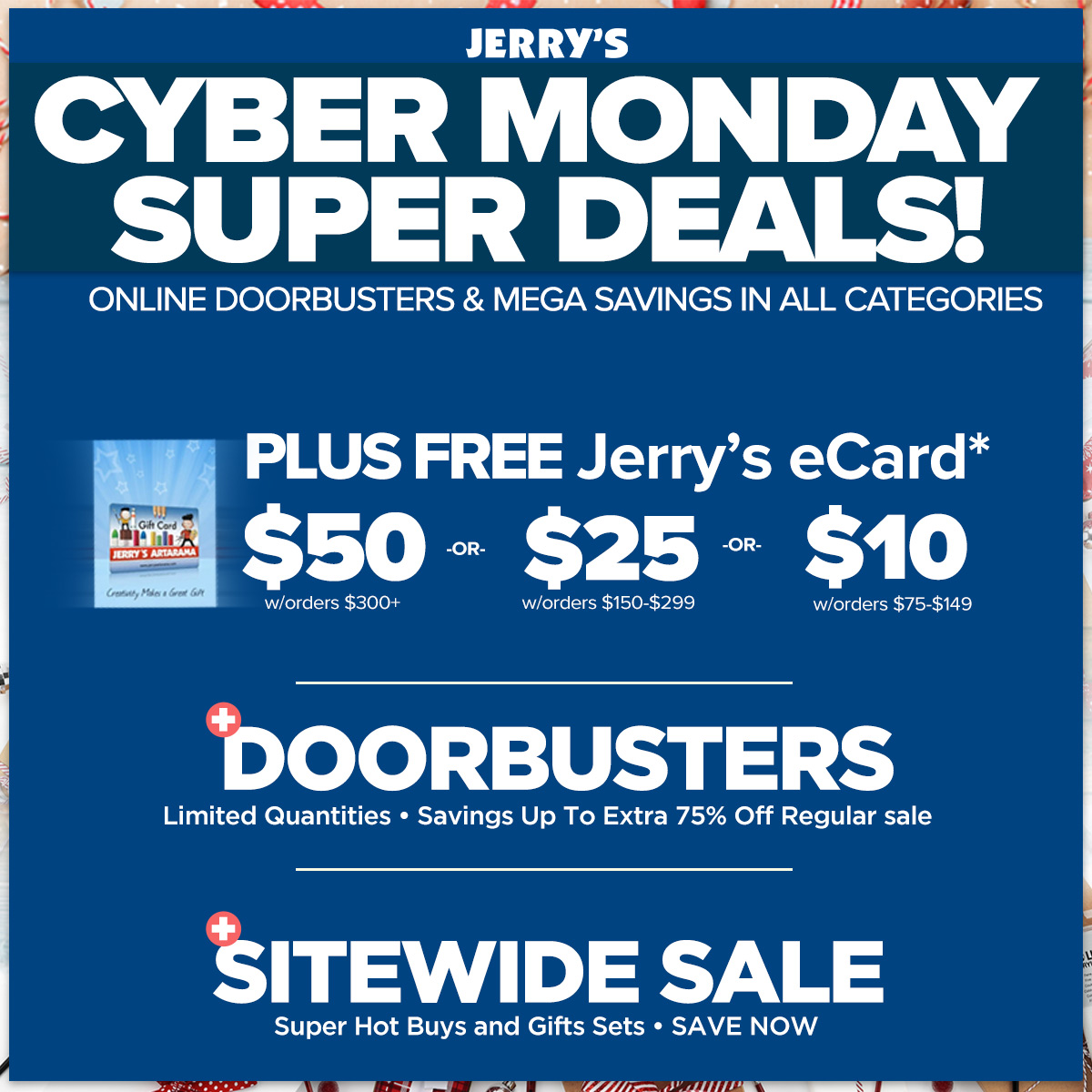Super Cyber Monday Sale