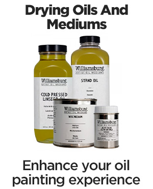 shop williamsburg drying oils and mediums
