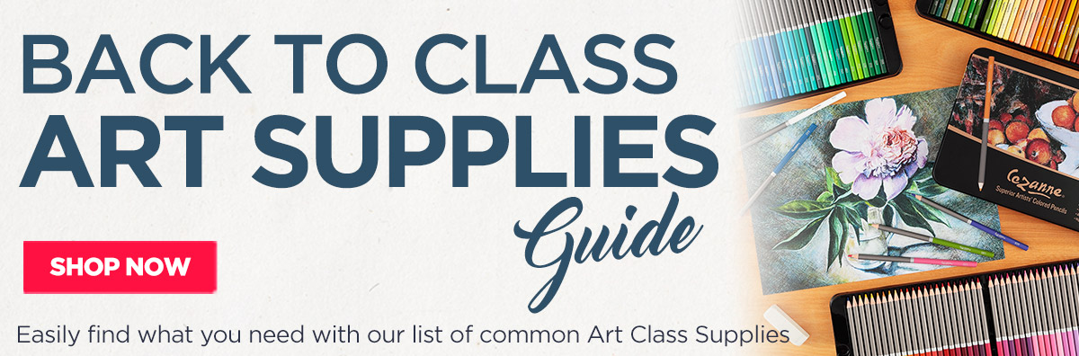 Back to Class Art Supplies Guide