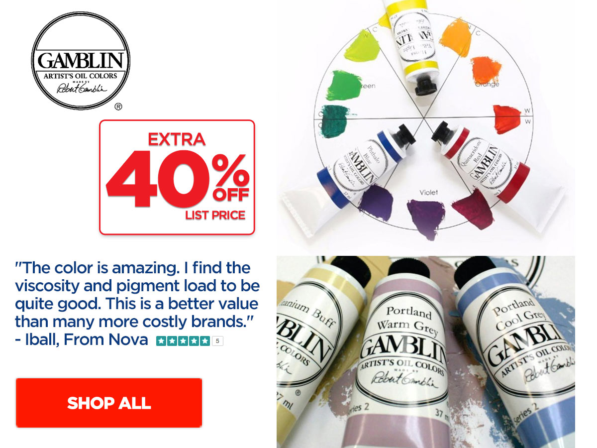 Gamblin Artist's Oil Color Paints