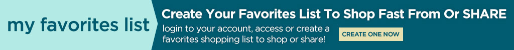 Create a Favorites List
