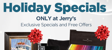 Holiday Specials ONLY at Jerrys