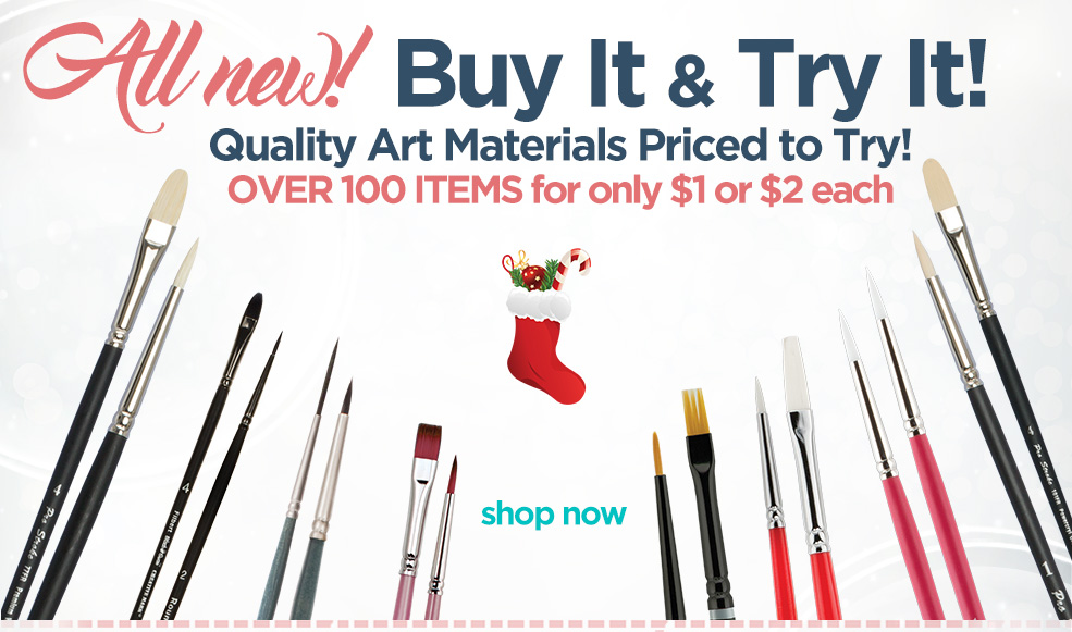 Buy It - Try It Art Supplies