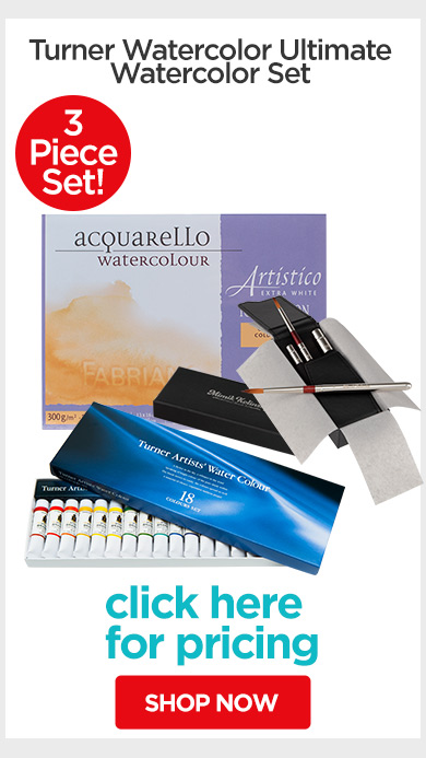 Jerry's Holiday Gift Sets - Turner Watercolor Ultimate Watercolor Set