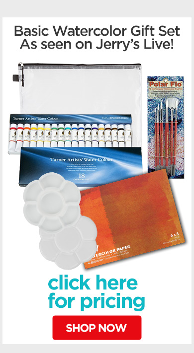 Jerry's Live - Episode no. 38C - Holiday Gift Guide- Basic Watercolor Gift Set