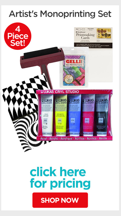 Jerry's Live - Episode no. 38P - Holiday Gift Guide- Artist's Monoprinting Set