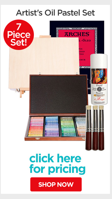 Jerry's Live - Episode no. 38M - Holiday Gift Guide- Artist's Oil Pastel Set