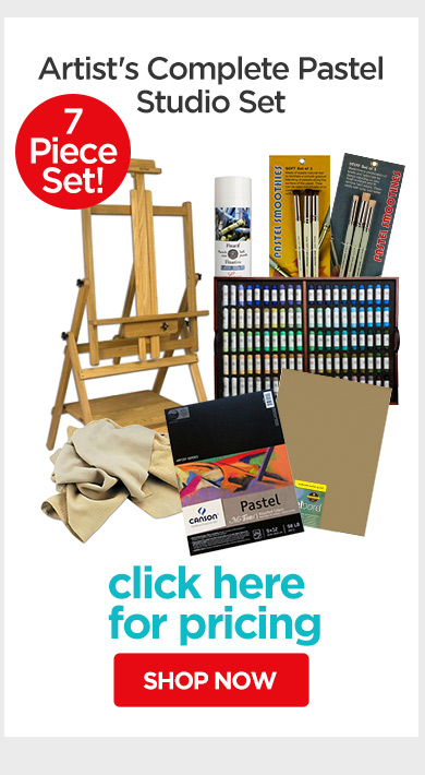 Jerry's Live - Episode no. 38K - Holiday Gift Guide- Artist's Complete Pastel Studio Set