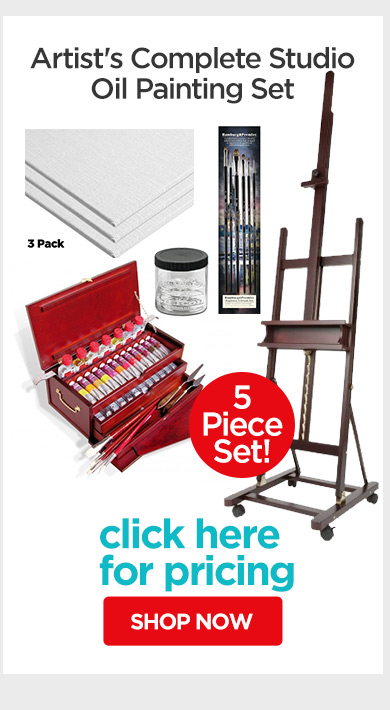 Jerry's Live - Episode no. 38I - Holiday Gift Guide- Artist's Complete Studio Oil Painting Set