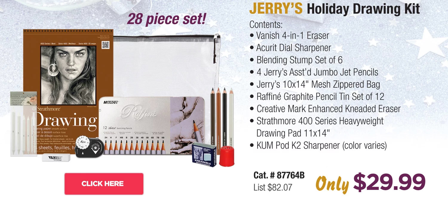 Jerry's Holiday Drawing Kit