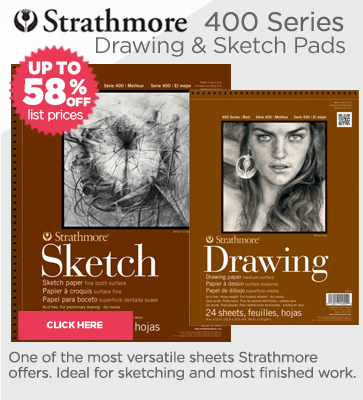 Strathmore Sketch and Drawing Pads on Sale