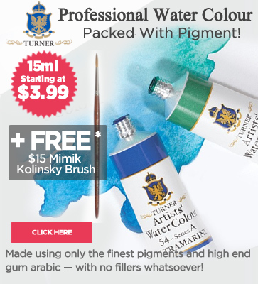 Professional Watercolor Paints on Sale