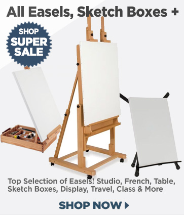 Easels & Sketchboxes, Workshops, Classroom, Studio and More