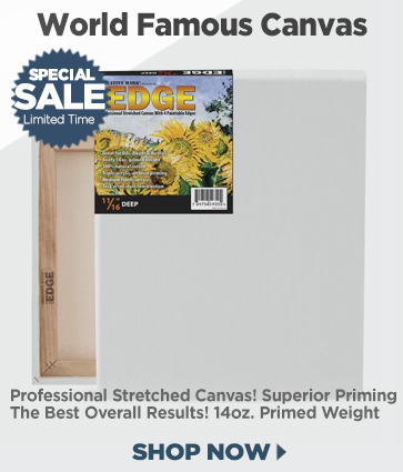 The Edge Professional Stretched Cotton Canvas