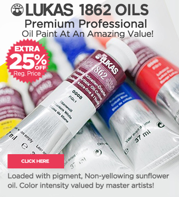 Lukas Professional Oil Paints extra 25% OFF Regular Prices