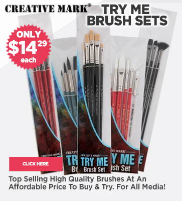 Try Me Artist Paint Brush Sets on Sale