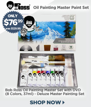 Bob Ross Oil Painting Master Set for $76.99