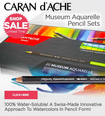 Caran D'Ache Museum Aquarelle Pencil Sets on Sale